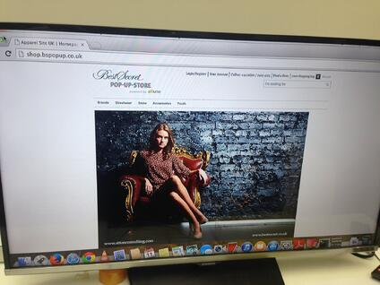 Hybris Fashion ecommerce website