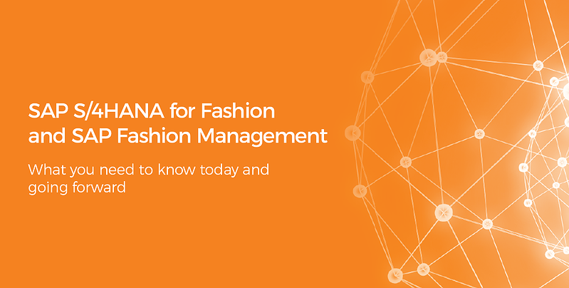 all you need to know about SAP S/4HANA Fashion and SAP FMS