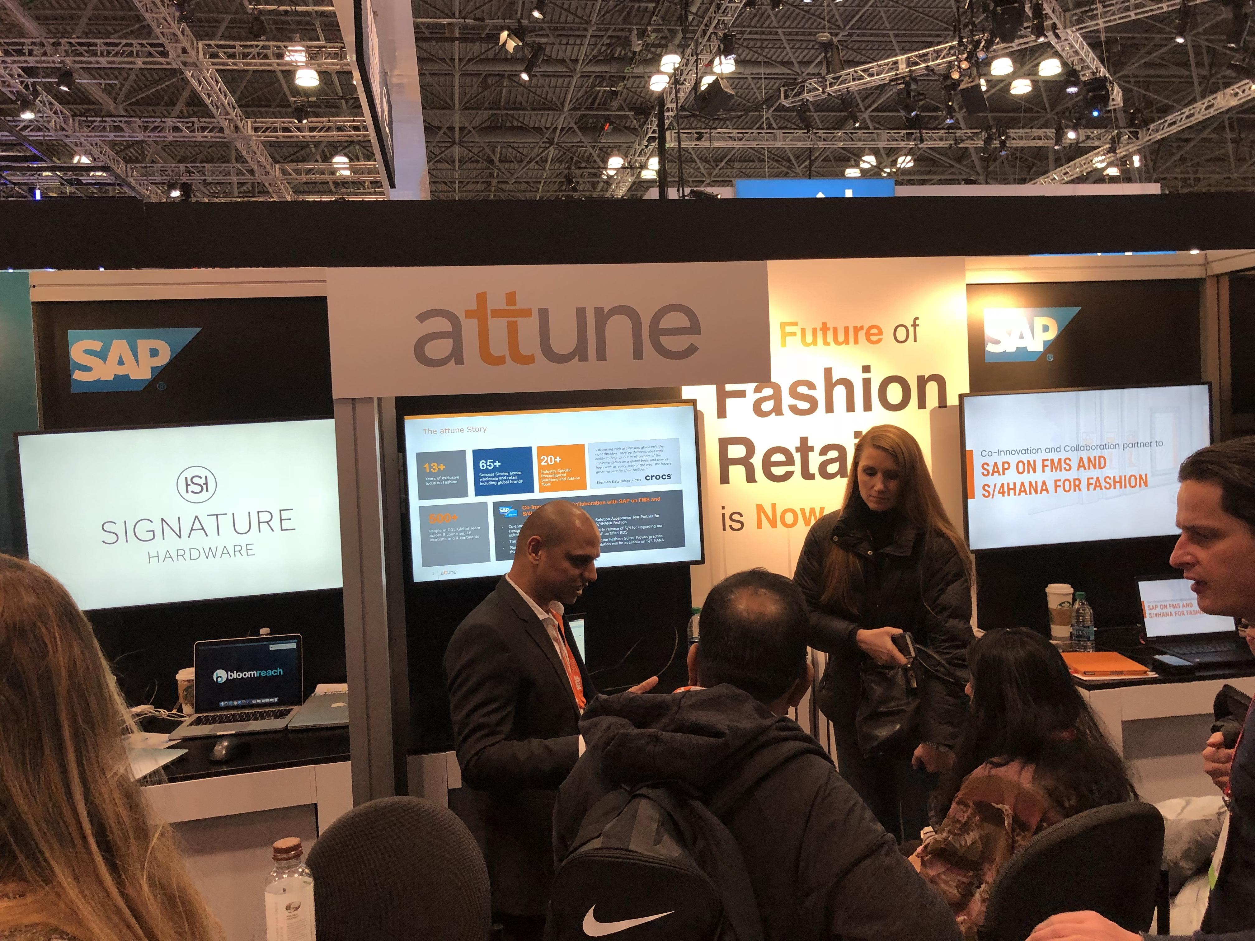 S4 HANA S4HANA SAP Fashion Management at NRF 2018 Retail's Big Show