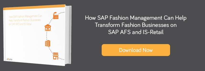 Migrating from AFS and IS-Retail to Fashion Management Solution SAP